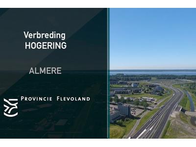 Almere verbreding Hogering