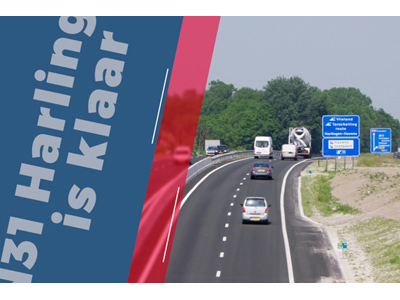 N31 Harlingen is klaar