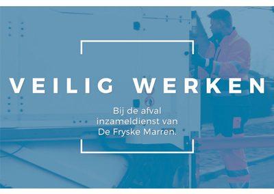 Veilig Werken bij de afval inzameldienst van De Fryske Marren