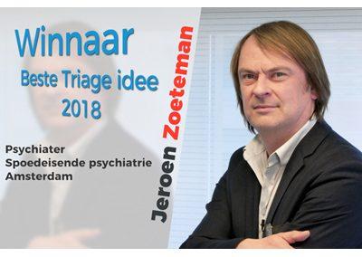 Gestructureerde Triage bij spoedeisende psychiatrie Amsterdam